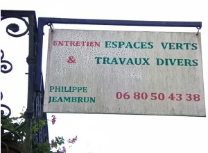 Entretien espaces verts Philippe JEAMBRUN Viella