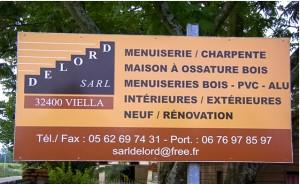 Menuiseries bois Delord Viella