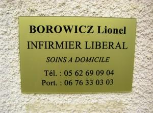 Infirmier Lionel BOROWICZ Viella