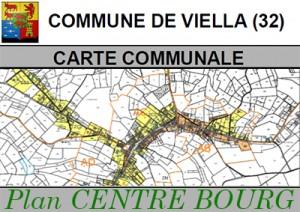 Carte Communale Viella BOURG