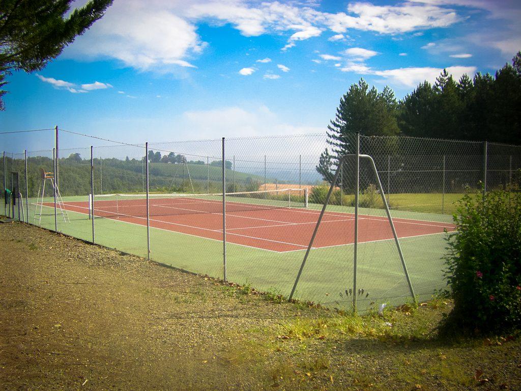 Terrain de tennis Viella