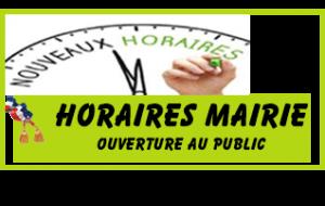 Horaire Mairie Viella